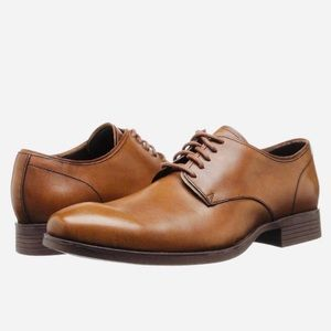 Cole Haan Copley Leather Plain Toe Derby Oxfords